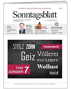 Sonntagsblatt Fasten-Abo