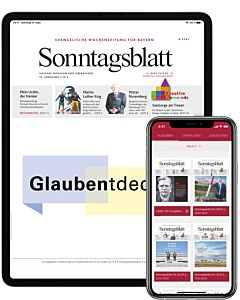 Digitales Sonntagsblatt Monats-Abo