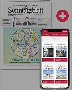 Sonntagsblatt digital zusätzlich zum Printabo