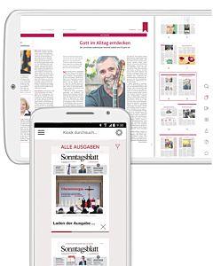 Digitales Sonntagsblatt Halbjahres-Abo